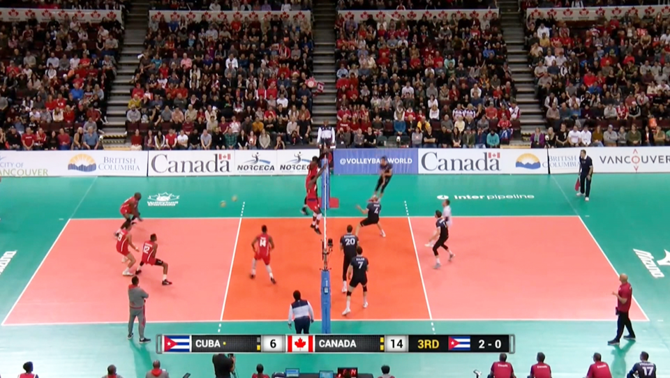 Canadian volleyball