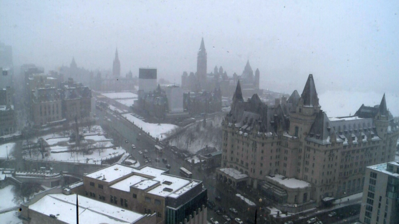 Major winter storm hits Ottawa