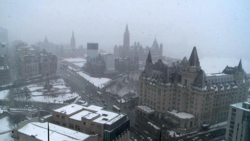 Major winter storm hits Ottawa