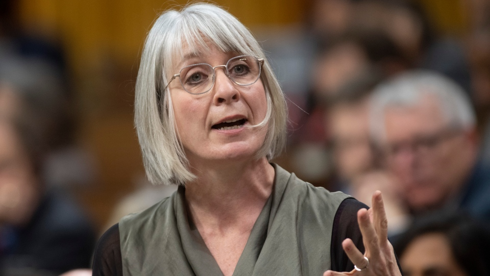 Minister of Health Patty Hajdu responds to a question during Question Period in the House of Commons Tuesday February 25, 2020 in Ottawa. THE CANADIAN PRESS/Adrian Wyld