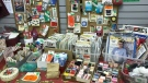 Vintage Finds and Fabrics in Weyburn (Gina Martin / CTV News Regina)