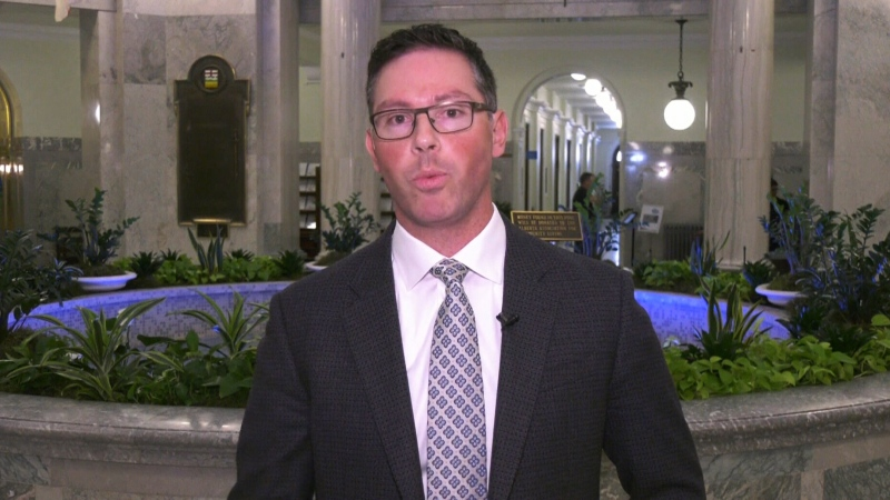 Alberta's Minister of Justice Doug Schweitzer
