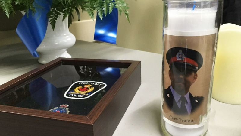 Community celebrates well-known police officer