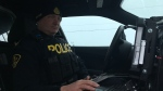 Sgt. Steele with Nottawasaga OPP