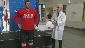 New concussion test for hockey players