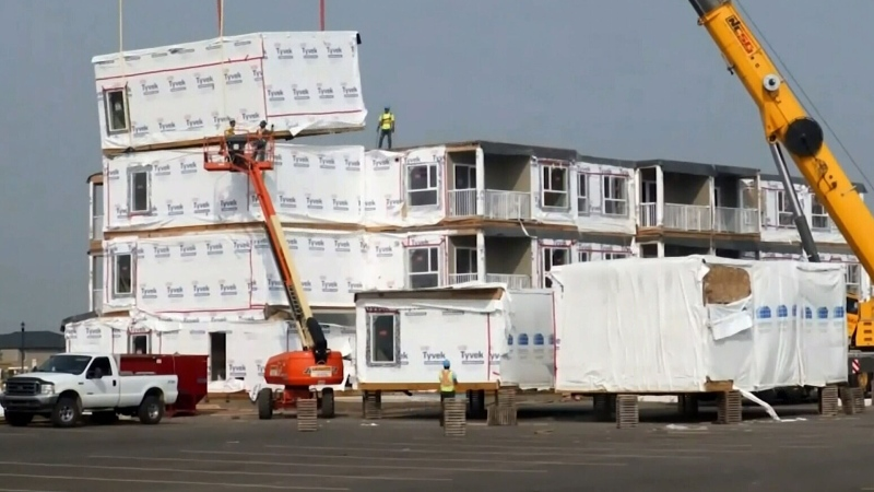 Homeowner fighting rules on modular homes