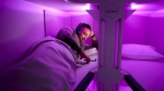 New proposal for airplane bunk beds