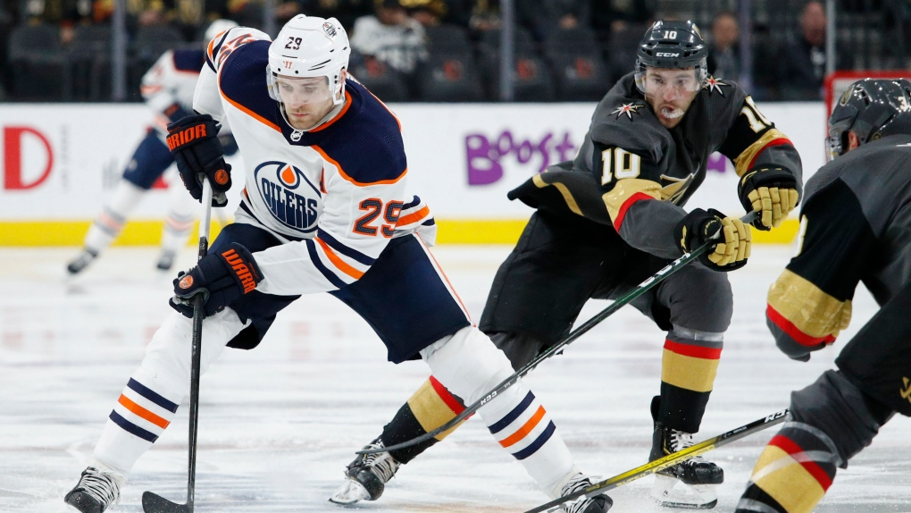 Edmonton Oilers GOlden Knights