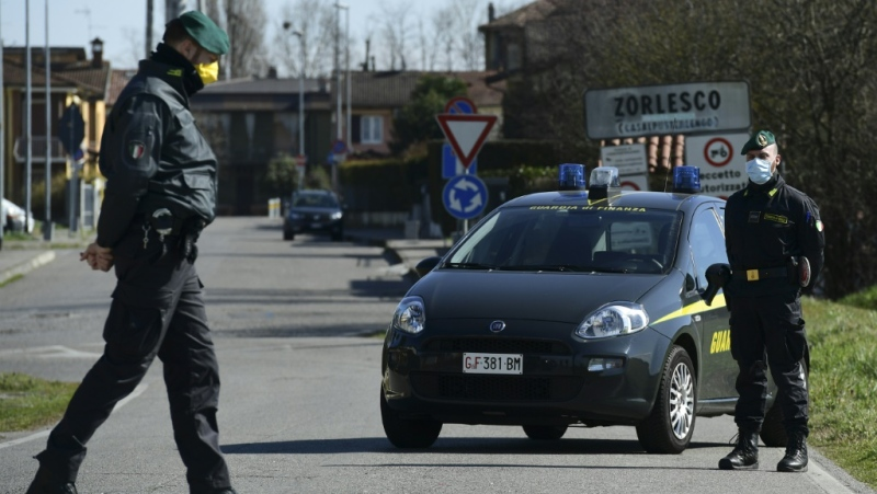 In the Lombardy region, some 10 towns have been put in lockdown after dozens of virus cases emerged. (AFP)