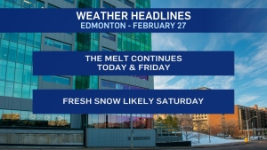 Weather headines, Feb. 27