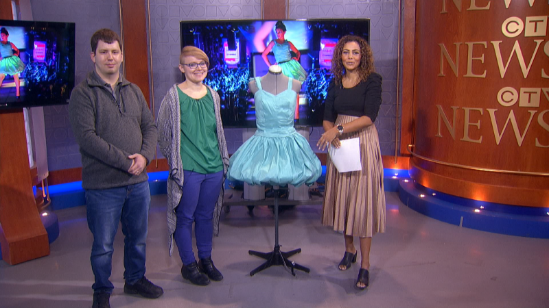 "We're joined by a Calgary couple who've created ""wearable art"" that explores humanity's relationship with technology"