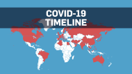 TIMELINE: Map shows spread of COVID-19