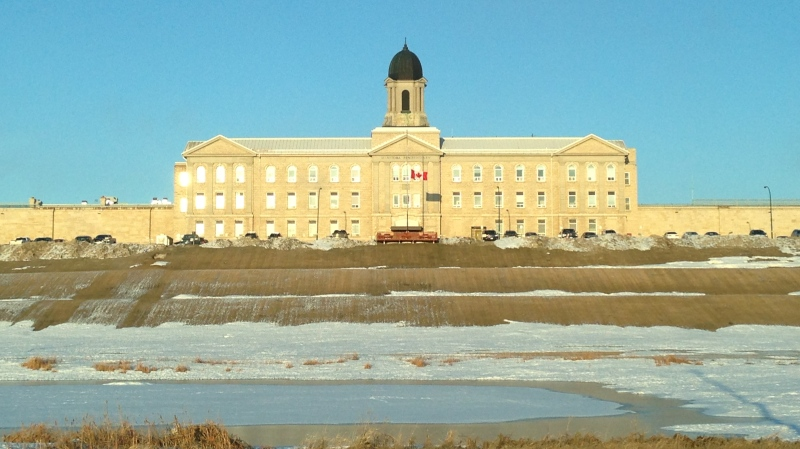 Stony Mountain Institution in Stony Mountain, Man. is pictured in this file photo. (CTV News Winnipeg)
