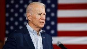 Democratic presidential candidate former Vice President Joe Biden speaks during a campaign event, Wednesday, Feb. 26, 2020, in Charleston, S.C. (AP Photo/Matt Rourke)