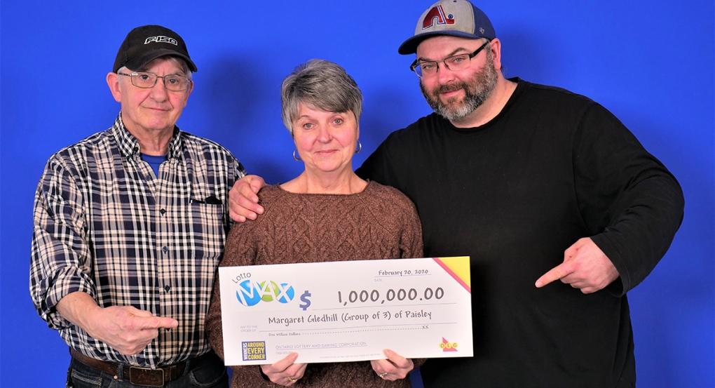 Paisley lottery winners