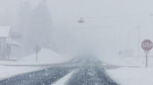 Snow hammers region