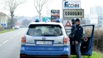 Italian police closed off 11 northern towns in a bid to stem the spread of COVID-19. (AFP)