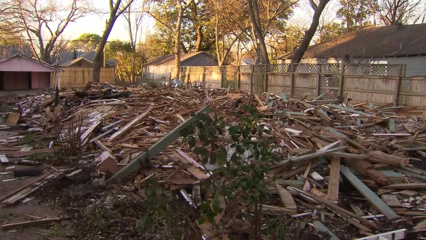 A demolition company accidentally tore down the wrong house