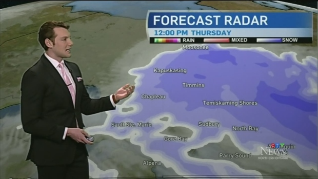 As snow continues to fall across northern Ontario, watch Will Aiello's full 7-day weather forecast to find out how long the storm will last.