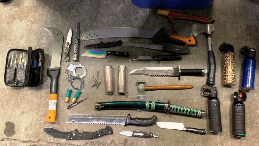 Knives Oppenheimer Park