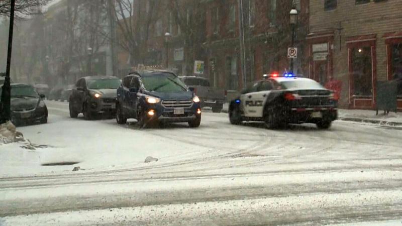 New Brunswick gets classic Maritime snowstorm