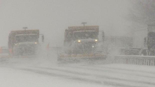Major winter storm hits hard