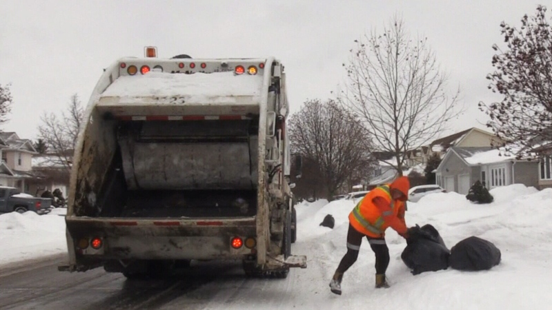 Winter waste collection etiquette