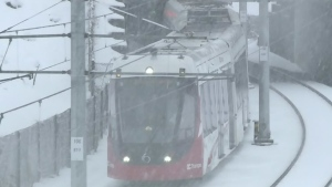 Lowest service yet for Ottawa LRT