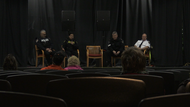 Two panels made up entirely of emergency services personnel followed each documentary, speaking about their own personal challenges. (Feb.27 /2020)