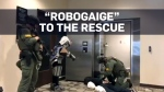 Young boy's wish to be a crime-fighting robot is g