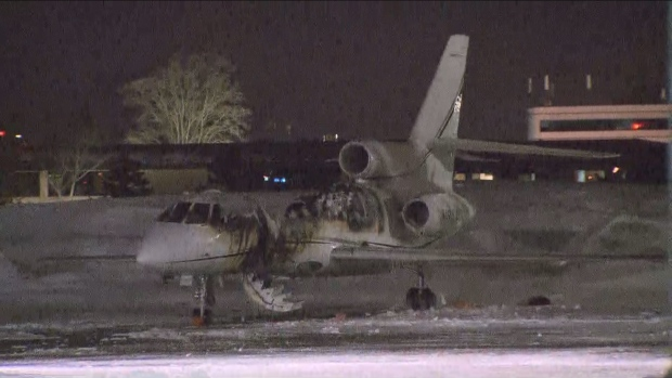 Police probe suspicious fire that destroyed plane at Toronto area airport