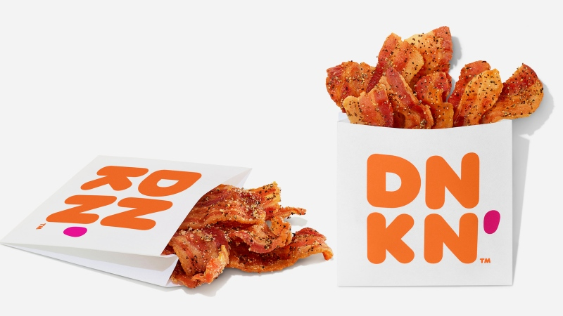 Snackin' Bacon is now available at Dunkin' restaurants across the U.S. (Dunkin' Donuts)