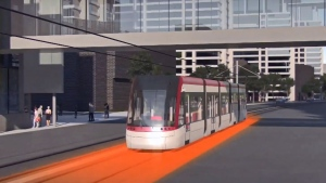 Léeo is a new public transit project in Montreal's south shore. (Credit: Ville de Longueuil)