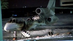 Police are investigating a suspicious fire that destroyed a plane at Buttonville Municipal Airport. (CTV News Toronto)