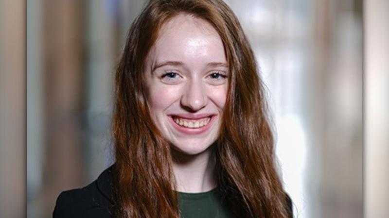 Marion M. Graham Collegiate Grade 12 student Kylie Flynn.