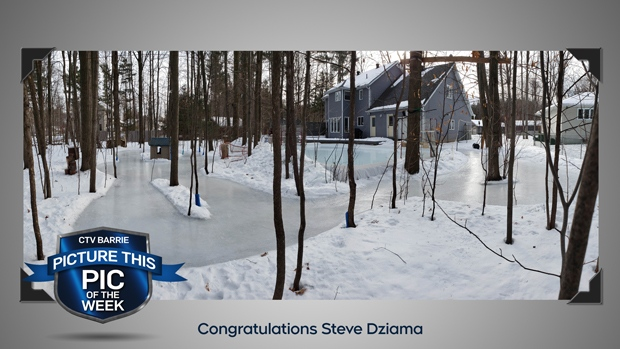 Pic of the week:Outdoor ice rink