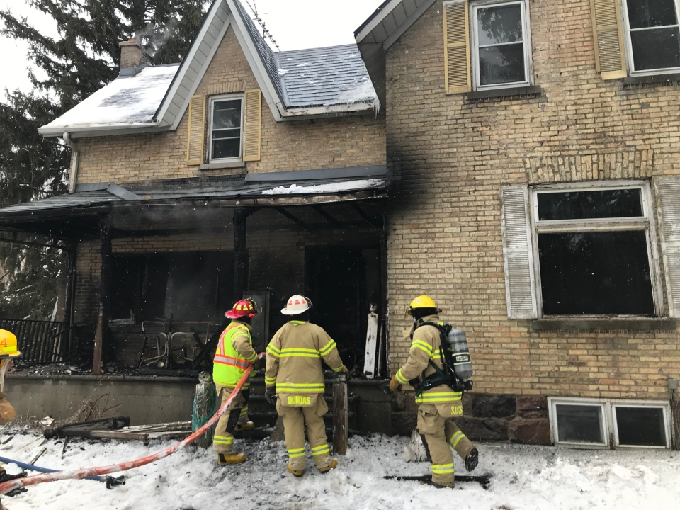 Elginfield Road house fire