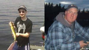 The Shay and MacKay Memorial Fishing Derby honours the lives of Cory Shay (left) and Kyle MacKay (right).