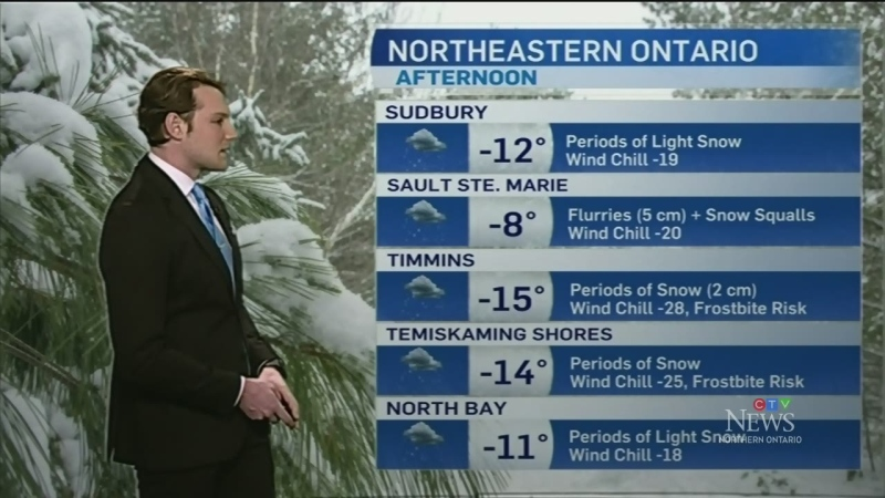 Some snow still to fall with below-seasonal temperatures Friday, watch Will Aiello's full 7-day weather forecast for northeastern Ontario. Feb. 28/20