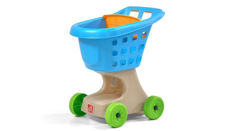 Step2 Little Helper's Shopping Cart Blue model 700000 (Health Canada)