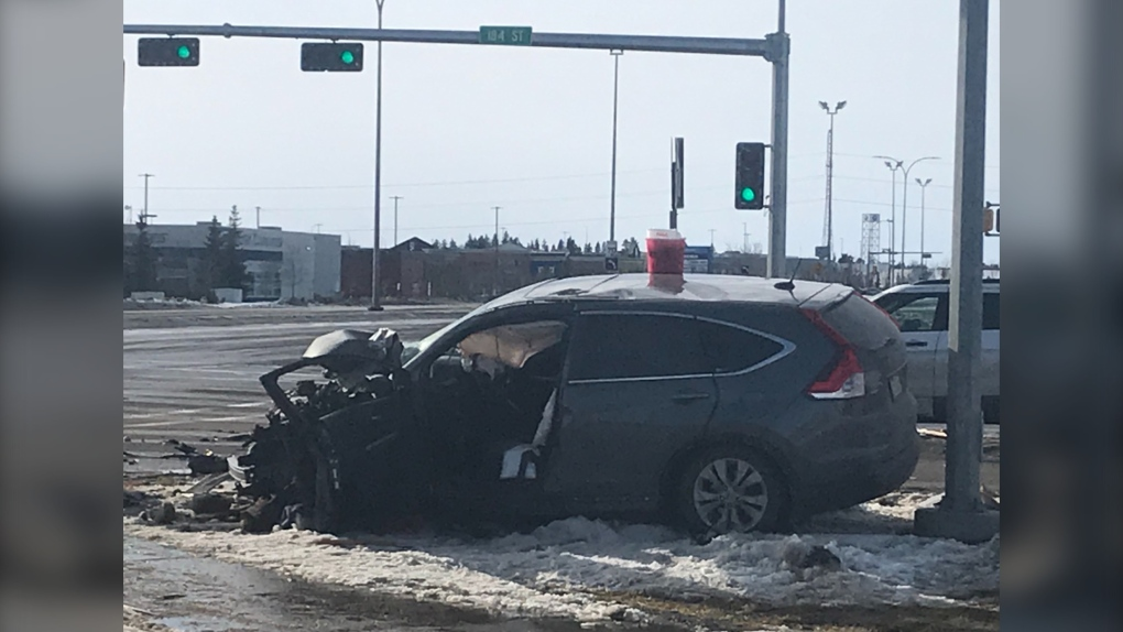 Stony Plain Road Collision