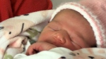 Woman delivers baby in hotel lobby