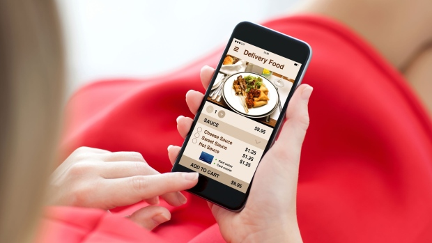 About one-third of B.C. residents use food delivery apps to order takeout, results from a Research Co. poll suggest. (Shutterstock)