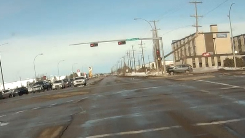 Stony Plain Road crash