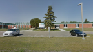 The Ponoka Secondary Campus school was put in a hold and secure Friday, Feb. 28, 2020 after a racist and threatening video was posted online. (Google Maps)