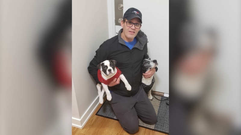 Barry Norton was active and healthy. But Saturday afternoon, he was filling a prescription for antibiotics at Shoppers Drug Mart on Kingsway when he was given a cup of pills and told to take them on the spot. (Shelly Norton)