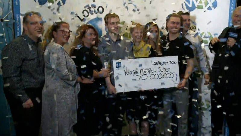 CTV National News: The 22-year-old lottery winner