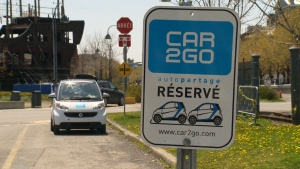 Car2Go parks operations as ride sharing thrives