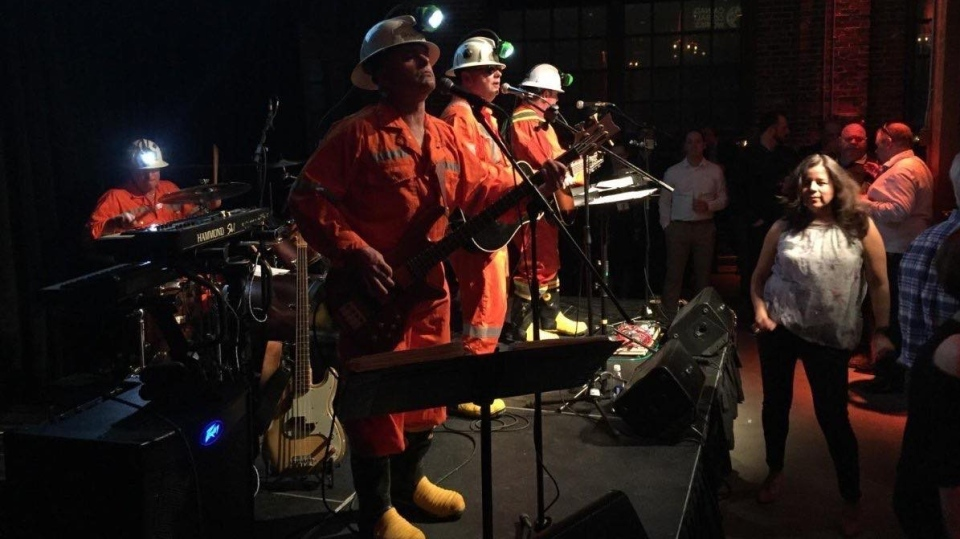 Sudbury rock band, Shaft Bottom Boys is attempting to break the Guinness World Record for Deepest Underground Concert.