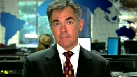 Environment Minister Jim Prentice appears on CTV's Canada AM from studios in New York, Monday, Sept. 22, 2009.